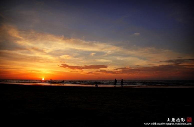 Sunset at Esplanade Miri III
